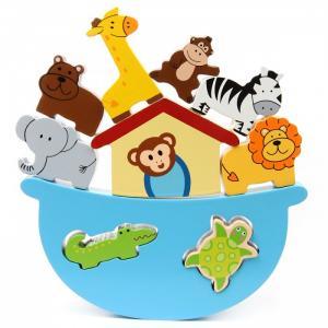 Деревянная игрушка  Баланс Зоопарк Фабрика фантазий