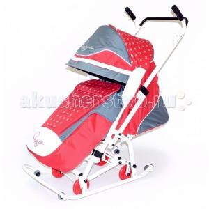 Санки-коляска  Скользяшки Мозаика R-Toys