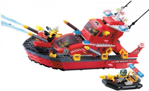 Конструктор  Fire Rescue 906 (340 элементов) Enlighten Brick