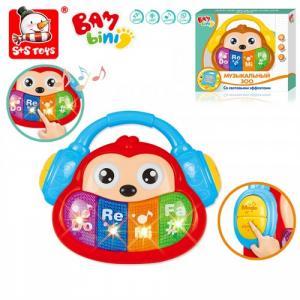 Развивающая игрушка  Пианино Музыкальный Зоо Обезьянка Bambini