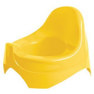 Горшок  Детский, цвет: желтый Бытпласт