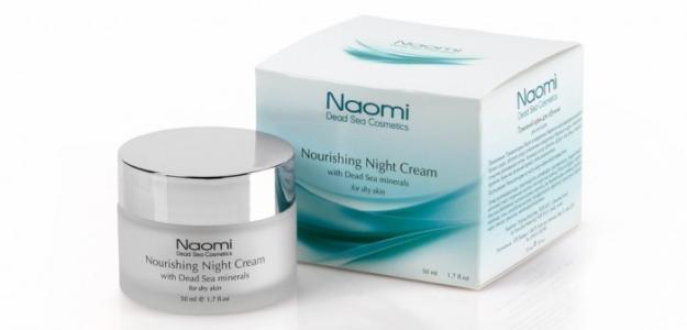 Крем ночной питательный для лица с минералами Мертвого моря сухой кожи 50 мл Naomi