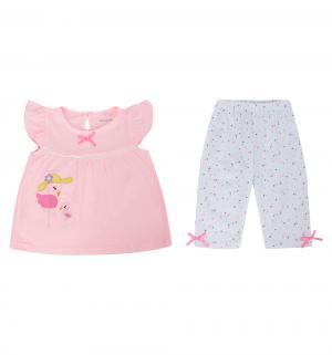 Комплект туника/леггинсы , цвет: розовый Bony Kids