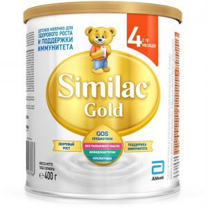 Детское молочко  Gold 4 с 18 месяцев, 400 г Similac