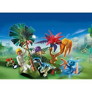 Конструктор Playmobil Супер 4 Затерянный остров с Алиен и Хищником PLAYMOBIL®