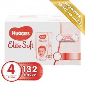 Подгузники Elite Soft 4 (8-14 кг) 132 шт. Huggies