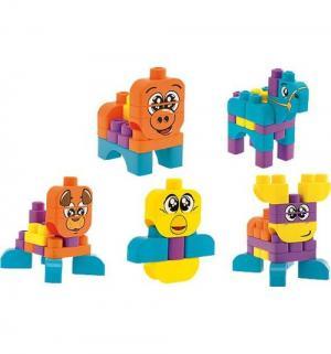 Набор строительных блоков  Животные Chicco
