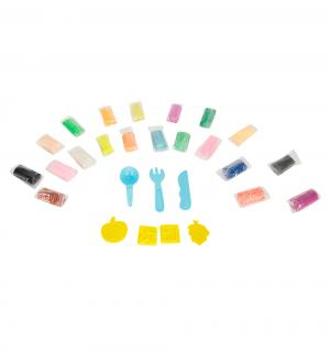 Тесто для лепки  формочки+инструменты (20 цв.) (290 г) голубой Color Puppy