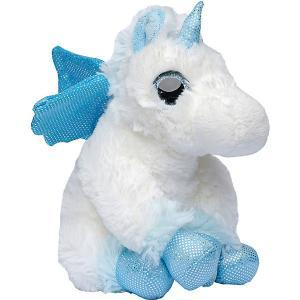 Мягкая игрушка Molli Единорог, 20 см Molly. Цвет: голубой