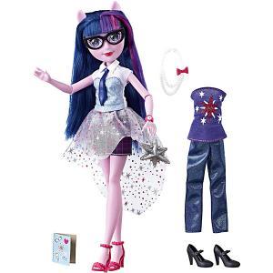 Кукла Equestria Girls Уникальный наряд Твайлайт Спаркл (Искорка) Hasbro