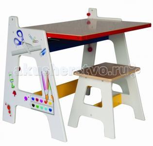 Lanaland Стол-доска для рисования 2 в 1 Zhejiang Taixing Childs Toys Co