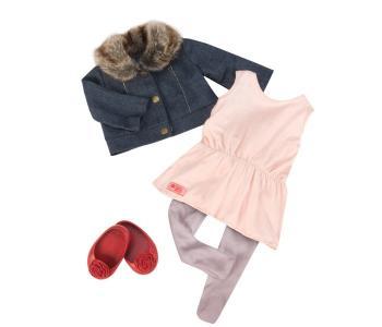 Комплект одежды с джинсовой курточкой Our Generation Dolls