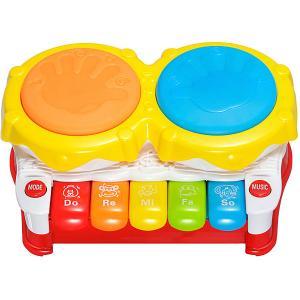 Развивающая игрушка  Первые уроки музыки, 3 режима Жирафики. Цвет: разноцветный