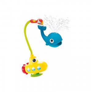 Игрушка водная душ Подводная лодка и Кит, Yookidoo. Цвет: разноцветный