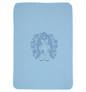 Плед  90 х 120 см, цвет: голубой Три медведя