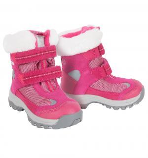 Ботинки  Kinos, цвет: розовый Reima