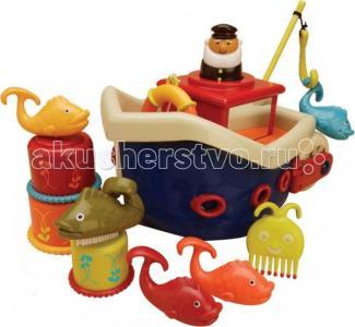 Кораблик с игрушками для ванны Battat