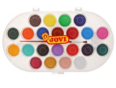 Краски акварельные  22 цвета Jovi