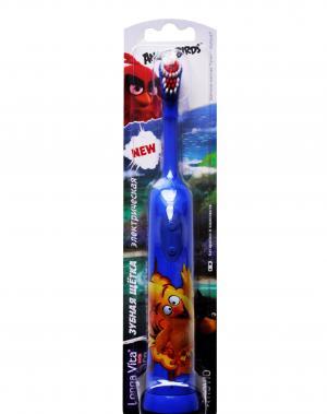 Электрическая зубная щетка Angry Birds  с ротационной головкой Longa Vita
