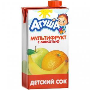Сок  мультифрукт, 500 мл Агуша