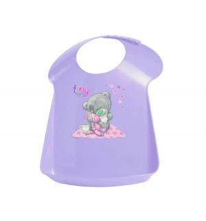 Нагрудник  с аппликацией, цвет: фиолетовый Me To You