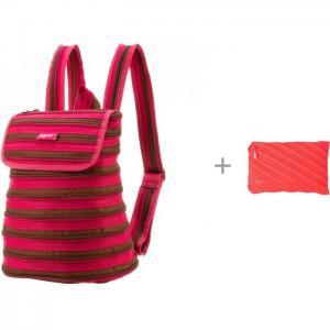 Рюкзак Zipper Backpack с пеналом-сумочкой Neon Jumbo Pouch Zipit