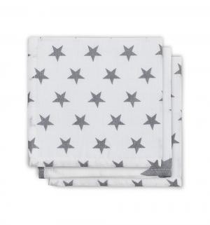 Комплект полотенце 3 шт Stars , цвет: серый Jollein