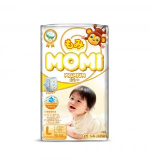 Трусики-подгузники  Premium (9-14 кг) 42 шт. Momi