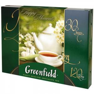 Подарочный набор чая 30 видов 120 пак. Greenfield