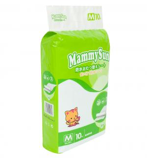 Пеленки  впитывающие 60х60 см, 10 шт MammySun