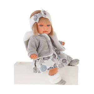 Кукла Antonio Juan Валентина 37 см Munecas. Цвет: серый