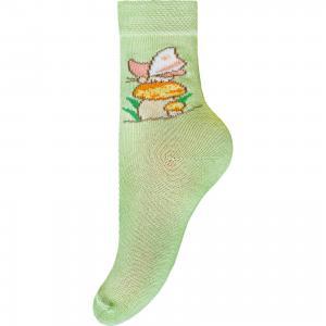 Носки для девочки Брестские. Цвет: зеленый
