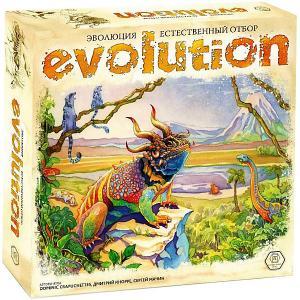 Настольная игра  Эволюция. Естественный отбор Правильные игры
