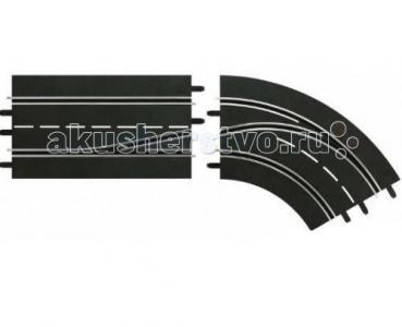 Дополнение к треку Поворот справа со сменой полосы с внешней на внутреннюю Carrera