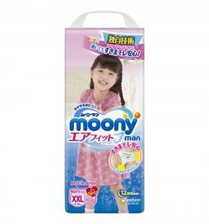 Трусики  ХXL для девочек (13-25 кг) 26 шт. Moony