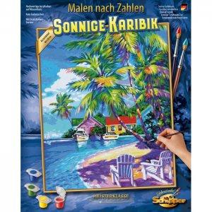 Картина по номерам Солнечные Карибы 50х40 см Schipper