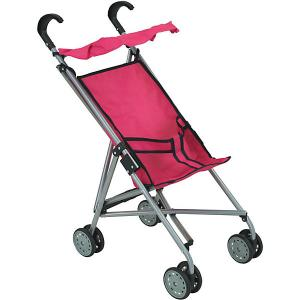 Коляска-трость для кукол Buggy Boom, розовая Melobo. Цвет: розовый