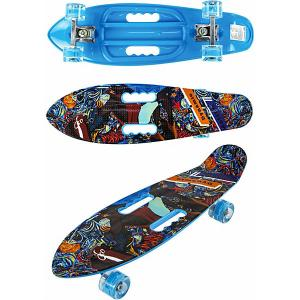 Скейт Navigator. Цвет: schwarz/blau