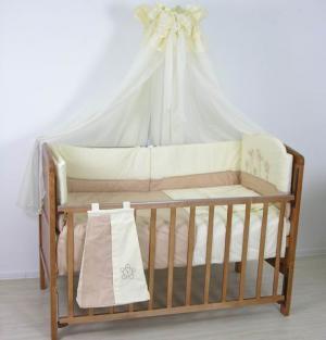 Комплект в кроватку  Волшебная полянка 140х70 (7 предметов) Fairy