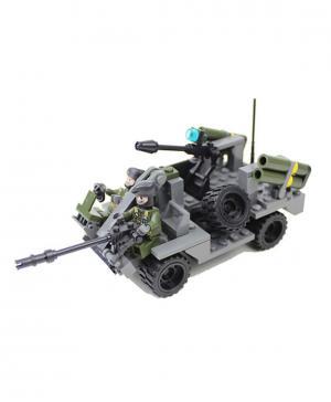 Военная техника. Вездеход 183 деталей Gudi