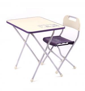 Набор мебели  КПР, цвет: сиреневый/бежевый Ника Детям