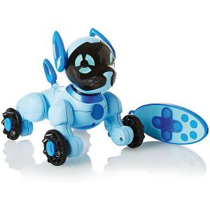 Робот на р/у  Собака Чиппи, голубая WowWee. Цвет: синий