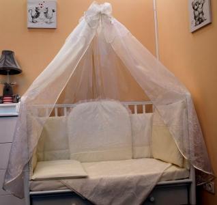 Комплект в кроватку  Нежность (8 предметов) Балу