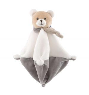 Мягкая игрушка  Медвежонок с одеяльцем 25 см Chicco
