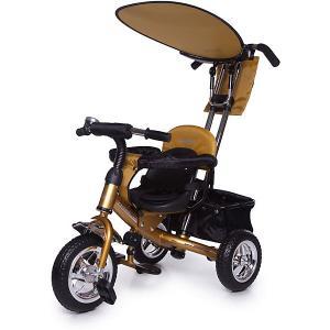 Велосипед трехколесный Lexus Trike Next Generation, желтый, Jetem. Цвет: желтый