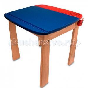 Im toy Стол для рисования с держателем рулона бумаги и контейнером I'm