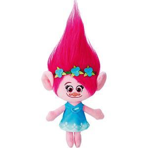 Мягкая игрушка Розочка, Тролли Hasbro. Цвет: розовый