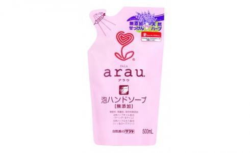 Foaming Hand Soap refill Мыло пенное для рук картридж 500 мл Arau