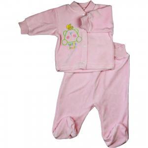 Комплект: джемпер и брюки Дамонт. Цвет: розовый