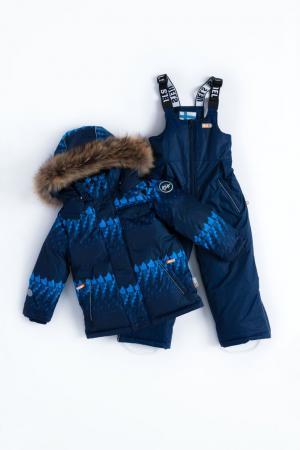 Комплект куртка/полукомбинезон  Alvar, цвет: синий Nels